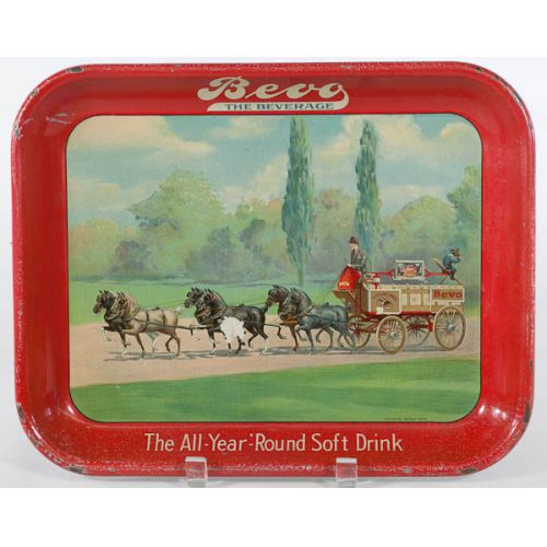 Bevo the Beverage by Anheuser-Busch Serving Tray