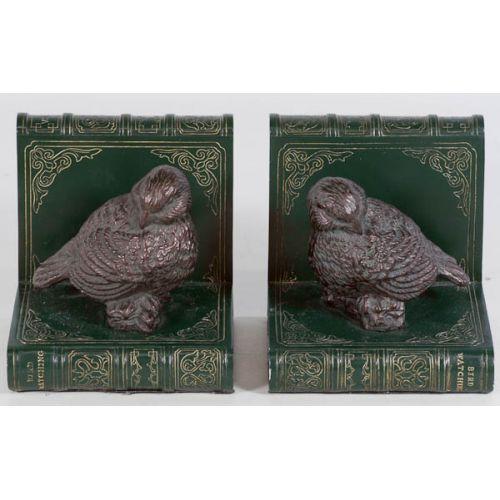 Books & Bob-o-Link Birds Book Ends (2pcs)