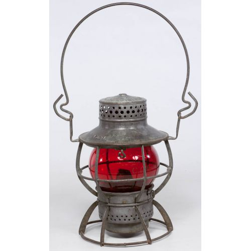 Chicago Great Western Dressel Short Globe Railroad Lantern