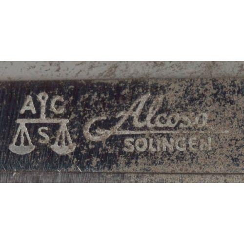 Alcosa Soligen Nazi German Dagger with Sheath & Portapee