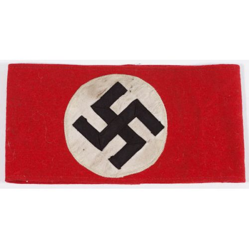 WW II Nazi Swastika Arm Band