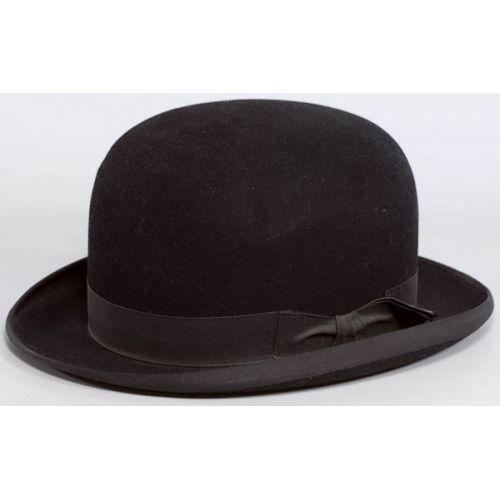 John B Stetson Bowler Hat from the Davis Company Chicago