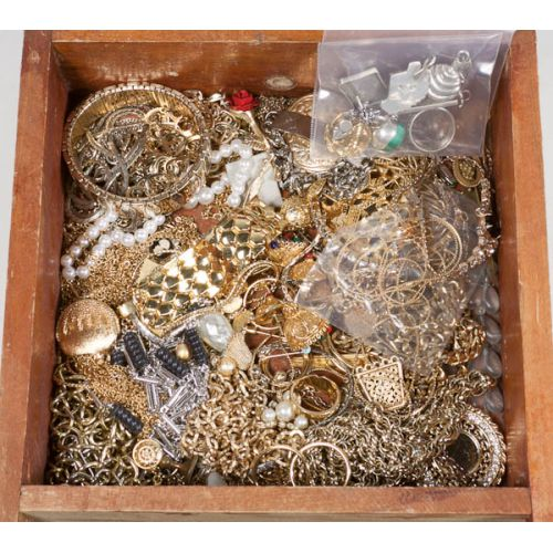 Collection of Costume Jewelry including Sterling