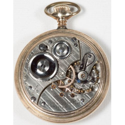 Illinois Pocket Watch Serial No 2606735 (1914)