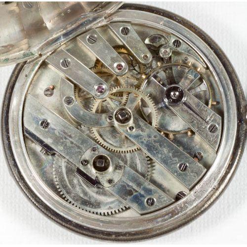 Huguenin Key Wind Pocket Watch