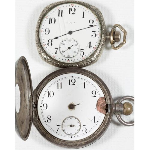 Elgin & Dublin Pocket Watches  (2pcs)