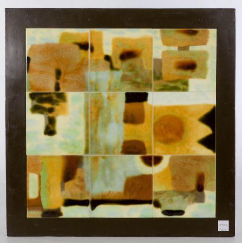 Ceramic Tiles by Xin Shens Wang Framed