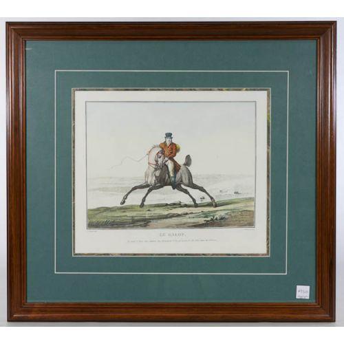 """Le Galop."" Framed Print"