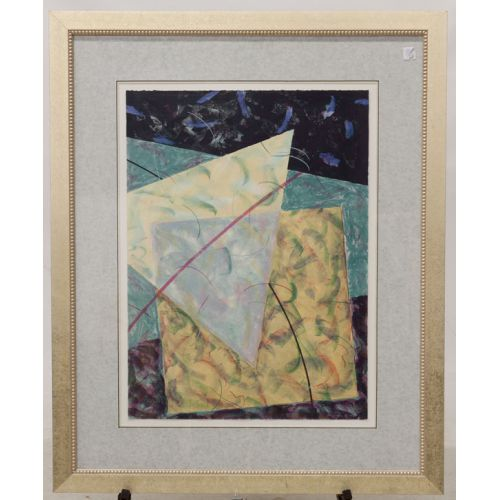 """""""Profile #1"""" James Minden Print on Paper Framed"""