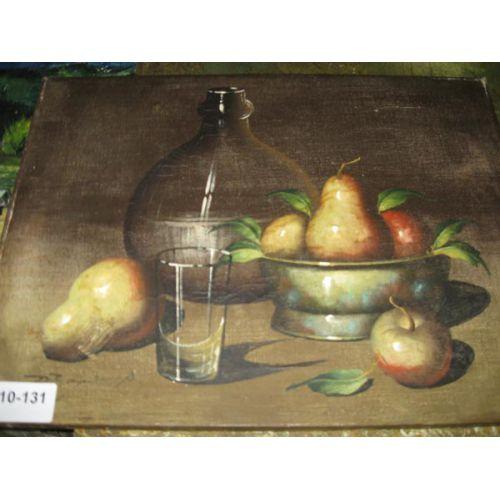Oil on Canvas - Fruit Still Life