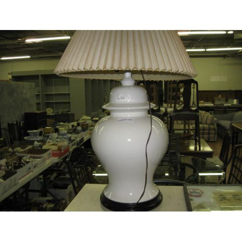 Huge Ginger Jar-style Table Lamp with Shade