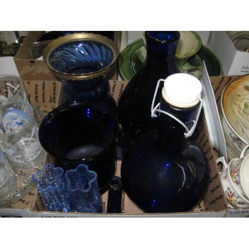 Blue Glass Items