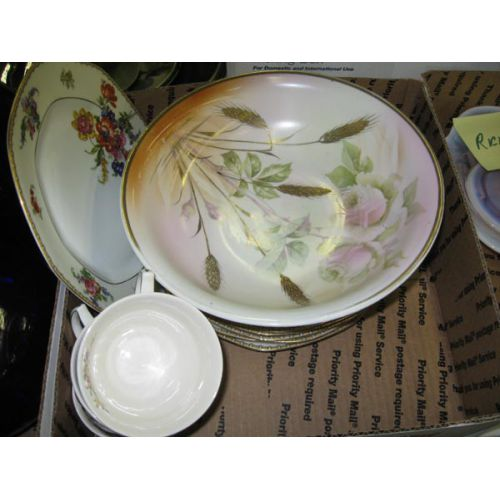 China Bowl, Plates, Cups