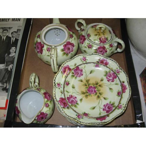 Japanese Floral Afternoon Tea Set