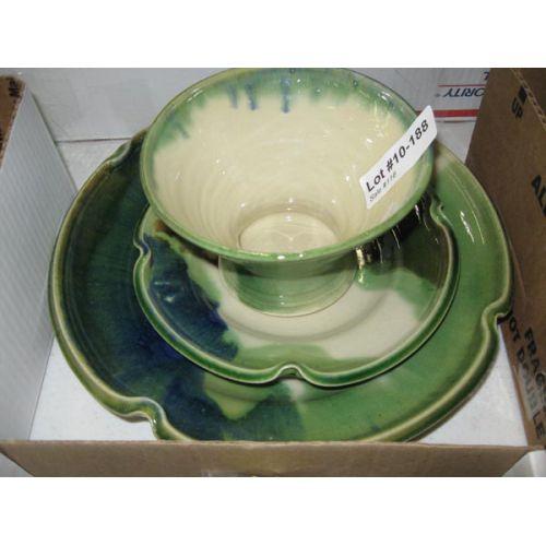 Pottery Items (3pcs)