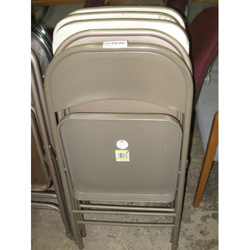 Beige Folding Chairs