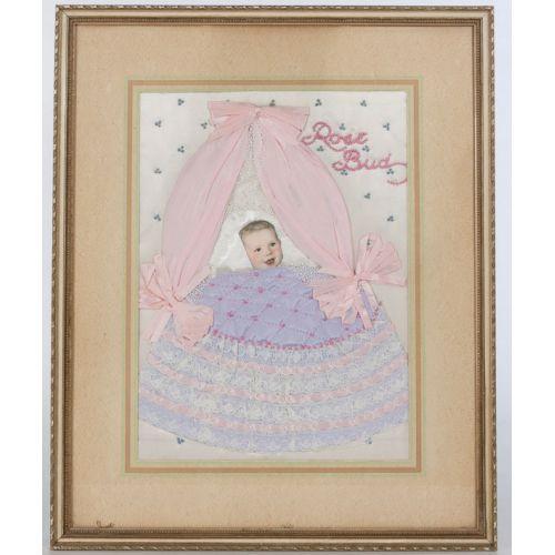 Mid-century Baby Collage
