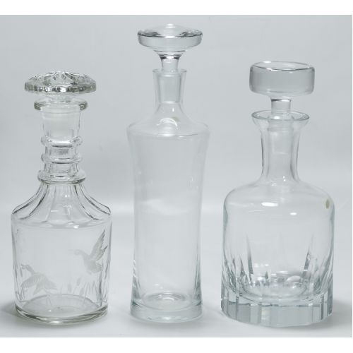 Stoppered Decanters