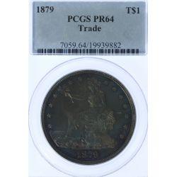 1879 $1 Trade PR-64 PCGS
