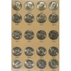 View 2: 1964-2010 Kennedy 50c Complete Set MS-63 - MS-65