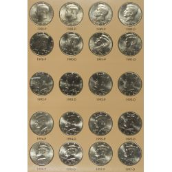 View 3: 1964-2010 Kennedy 50c Complete Set MS-63 - MS-65