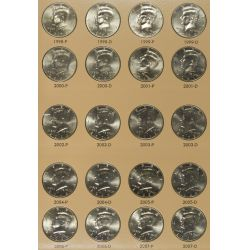 View 4: 1964-2010 Kennedy 50c Complete Set MS-63 - MS-65