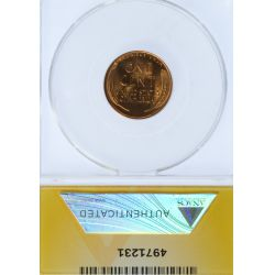 View 2: 1955-S 1c MS-66 RD ANACS