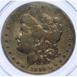 View 2: 1893-S $1 F Details PCGS