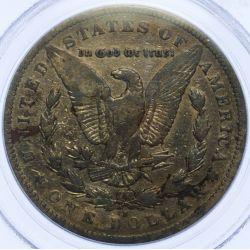 View 3: 1893-S $1 F Details PCGS