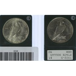 View 2: 1922, 1922-D $1 MS-61
