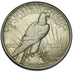 View 2: 1921 $1 Peace VF-30
