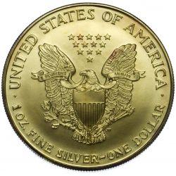 View 2: 2000 $1 Silver Eagle