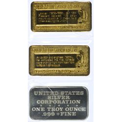 View 2: 1ozt. Silver Bars (3pcs.)