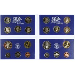 View 2: 2000, 2003 US Proof Sets