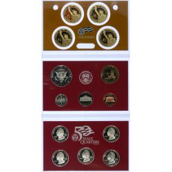 View 2: 2008 US Silver Proof Set