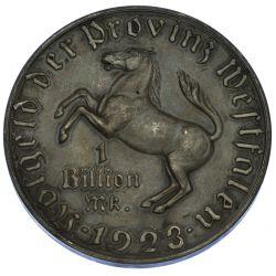 View 2: Germany: 1923 1 Billion Mark