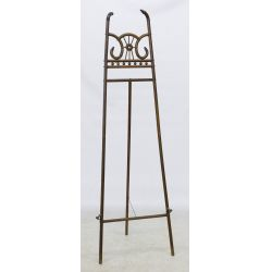 View 2: Victorian Carved Wood Easel