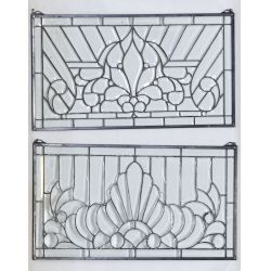 View 2: Leaded and Beveled Glass Windows