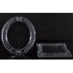 View 2: Oval and Rectangular Waterford Crystal Picture Frames