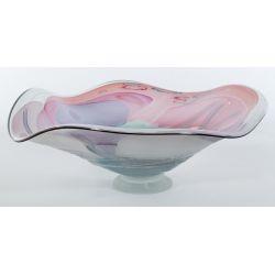 View 2: Large Millefiore Decor Art Glass Center Piece Bowl