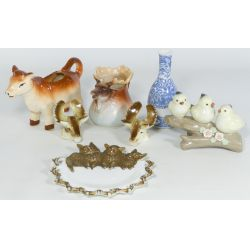 View 2: Collection of Decorative Porcelain Items (7 Pieces)