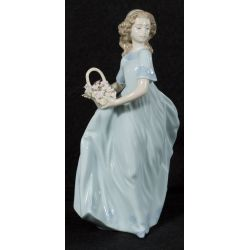 "View 2: Lladro ""Spring Enchantment"" #6130 Glazed Retired"
