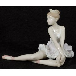"""View 2: Lladro """"Graceful Pose"""" #6174 Glazed Retired"""