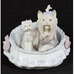 "View 2: Lladro ""Our Cozy Home"" #6469 Glazed Retired"