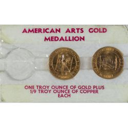 "American Arts Gold Medals ""Grant Wood"" (2ozt. Gold)"