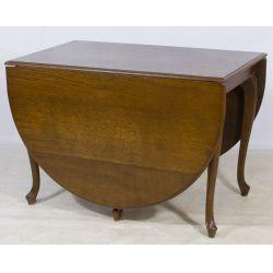 View 2: French Oak Gate Leg Table