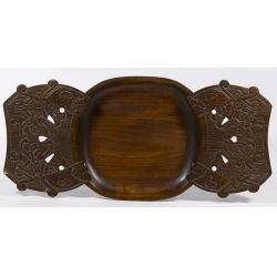 View 2: Russian Abramstevo Carved Tray