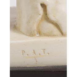 "View 3: Unknown Artist (20th Century) ""Discobolo"" Plaster Statue"
