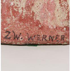 View 2: Z. W. Werner (20th Century) Ceramic Statue