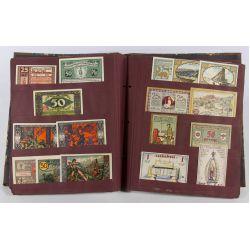 View 3: German Notgeld Paper Album